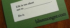 BlissmongercardX